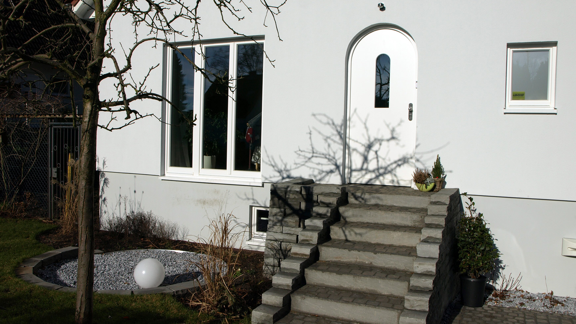 Architektin für Wedel und Hamburg - Eingang